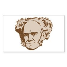 Strk3 Schopenhauer Rectangle Decal