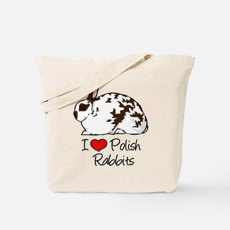Cute Polish rabbit Tote Bag