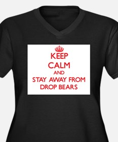 Keep calm and stay away from Drop Bears Plus Size