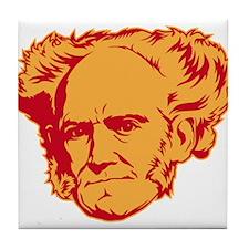 Strk3 Schopenhauer Tile Coaster