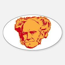 Strk3 Schopenhauer Oval Decal