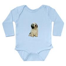 Polish Lowland Sheepdo Long Sleeve Infant Bodysuit
