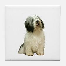 Polish Lowland Sheepdog 1 Tile Coaster