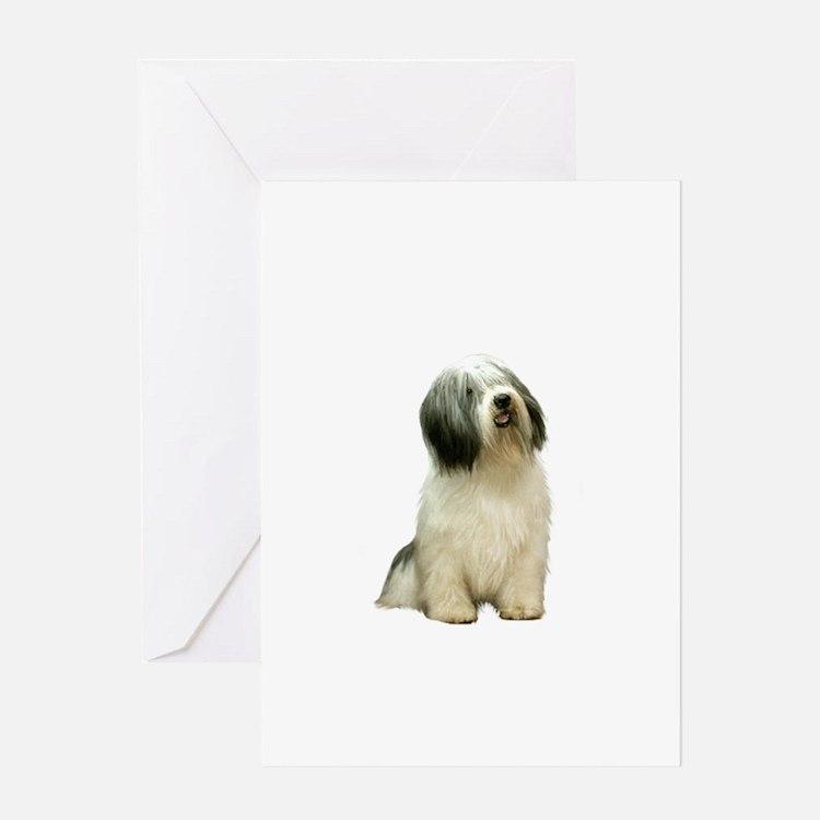 Polish Lowland Sheepdog 1 Greeting Card