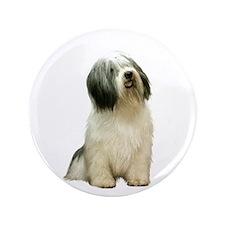 "Polish Lowland Sheepdog 1 3.5"" Button"