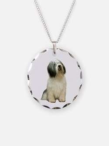 Polish Lowland Sheepdog 1 Necklace