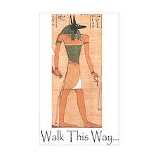 Yinepu ( Anubis ) Walk This Way Decal