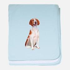 AmericanFoxhound1 baby blanket