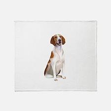 AmericanFoxhound1 Throw Blanket