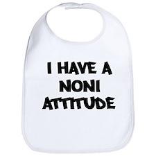 NONI attitude Bib