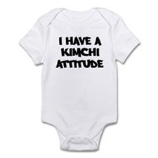 KIMCHI attitude Infant Bodysuit