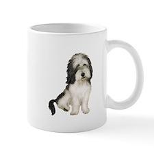 Petit Basset (brn-W) Mug