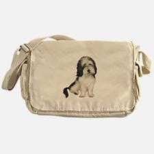Petit Basset (brn-W) Messenger Bag