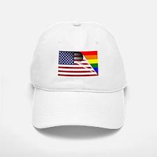 Flag Of U.S.A. Gay Pride Rainbow Hat