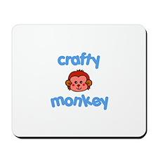 Crafts - Crafty Monkey Mousepad