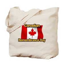 Canadian Remembrance Day Tote Bag