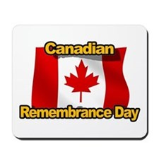 Canadian Remembrance Day Mousepad