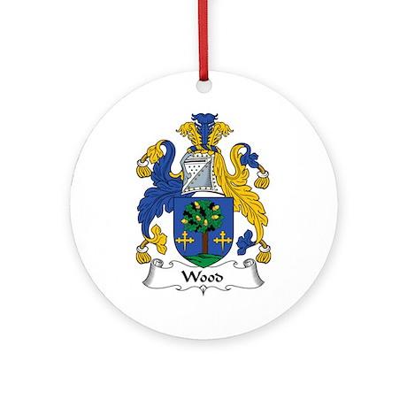 Wood II Ornament (Round)