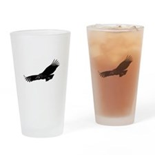 Cute Wild birds Drinking Glass