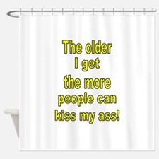 Cute The more people i meet the more i like my dog Shower Curtain