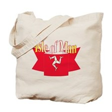Isle of man ribbon Tote Bag