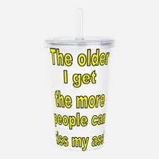 Cute The more people i meet the more i like my dog Acrylic Double-wall Tumbler
