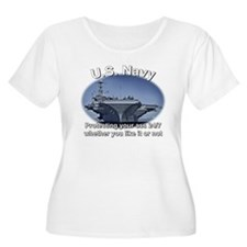 US Navy Protecting your @$$ Plus Size T-Shirt