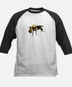 Robber Fly with Lunch Baseball Jersey