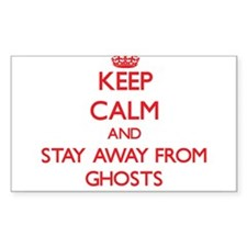 Keep calm and stay away from Ghosts Decal