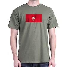 Flag of Mann T-Shirt