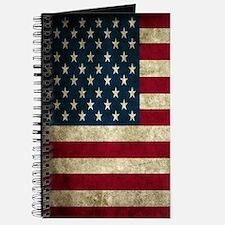 USA Flag - Grunge Journal