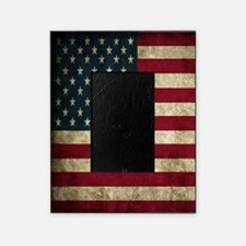 USA Flag - Grunge Picture Frame