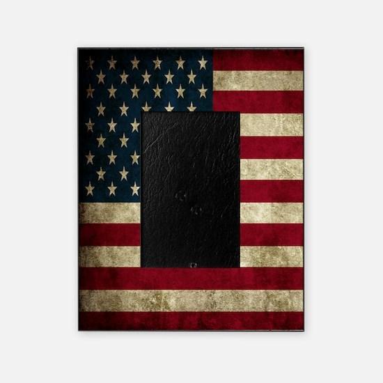 USA Flag - Grunge Picture Frame