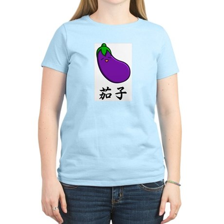 Eggplant Women's Light T-Shirt