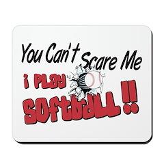 Play Softball - No Fear Mousepad