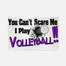 Volleyball - No Fear Rectangle Magnet