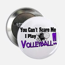 Volleyball - No Fear Button
