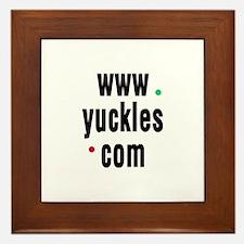 Yuckles Framed Tile