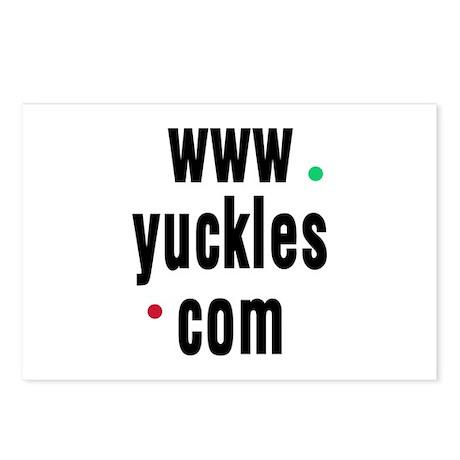 Yuckles Postcards (Package of 8)