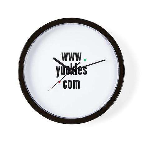 Yuckles Wall Clock