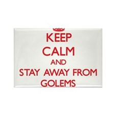 Keep calm and stay away from Golems Magnets
