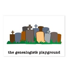 Playground Postcards (Package of 8)