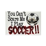 Soccer - No Fear Rectangle Magnet