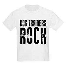 Dog Trainers Rock T-Shirt