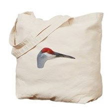Cute Sand hill crane Tote Bag