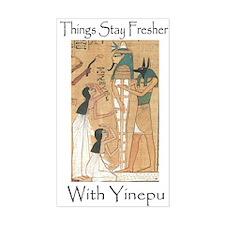 Fresher With Yinepu 'Anubis' Rectangle Decal