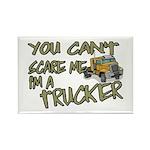 No Fear Trucker Rectangle Magnet
