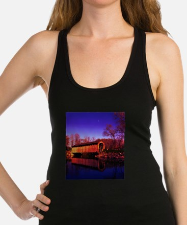 Covered Racerback Tank Top
