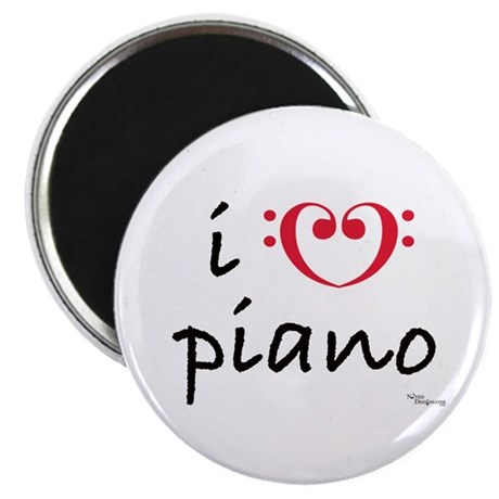 i love piano Magnet