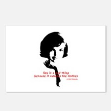 Jackie Kennedy's quote Postcards (Package of 8)